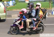 mudik naik motor